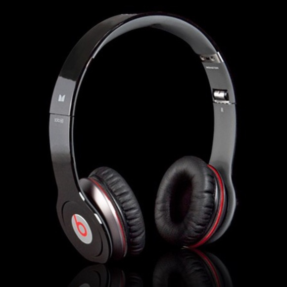 Beats Accessories By Dr Dre Black And Red Headphones Poshmark